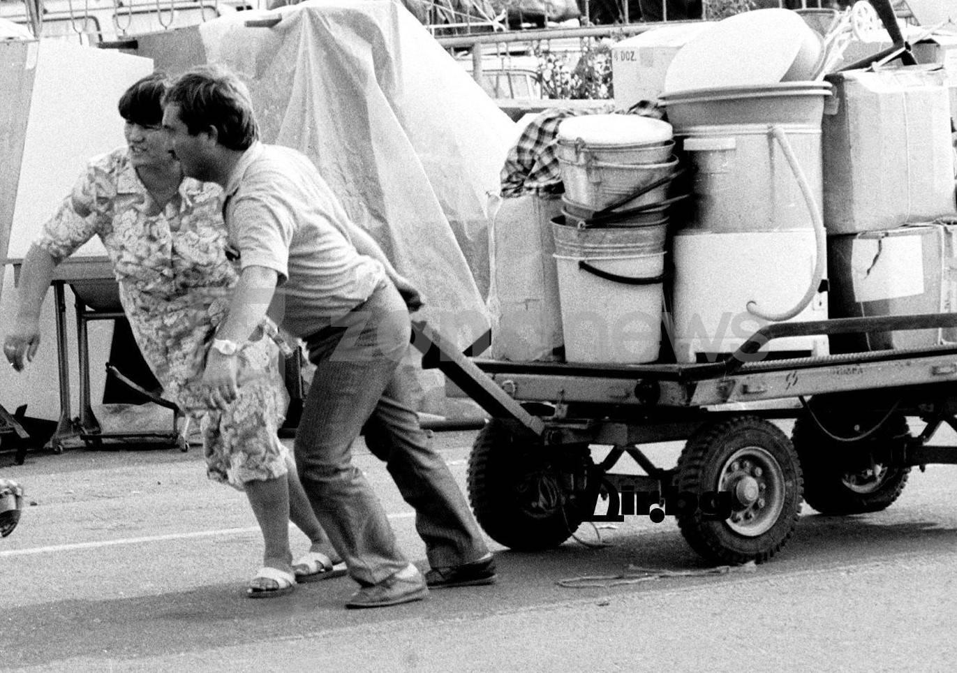 Май 1989 г.-комунистическият режим прогони стотици хиляди български граждани в Турция
