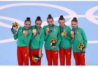 Ансамбълът ни по художествена гимнастика със златен медал в Токио
