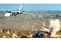 Бомбардировки на руски самолети в Сирия