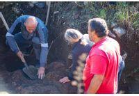 """Започнаха редовните теренни археологически проучвания на крепостта """"Калето"""" в Мездра"""