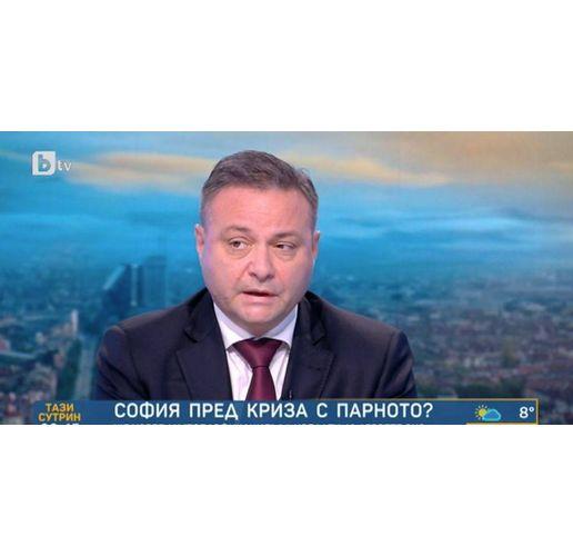 Александър Александров, шеф на Топлофикация