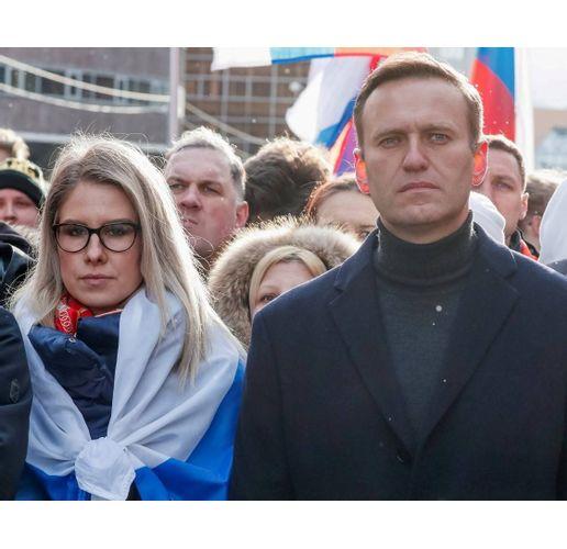 Алексей Навални и Любов Собол