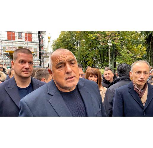 Бойко Борисов в Шипка