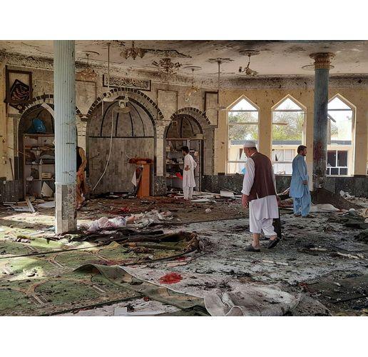Взрив в джамия в Северен Афганистан уби най-малко 50 души