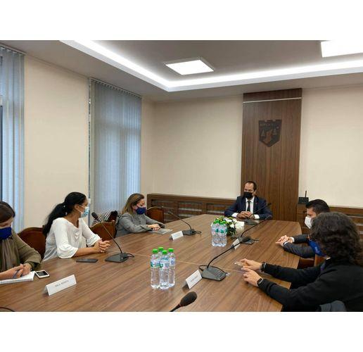 Калин Каменов се срещна с посланика на Италия и италиански предприемачи