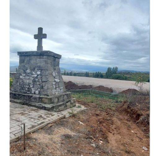 Паметникът край Кавадарци