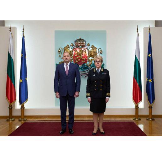 Румен Радев и Елеонора Митрофанова