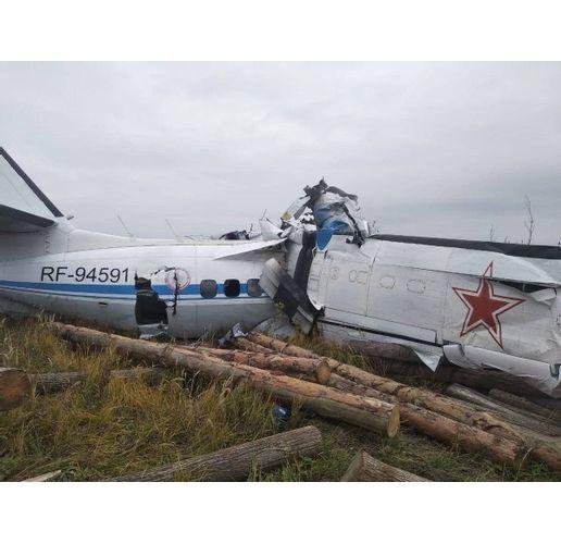 Самолет с 20 души на борда е паднал в Русия