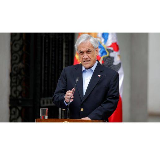 Чилийският президент Себастиан Пинера