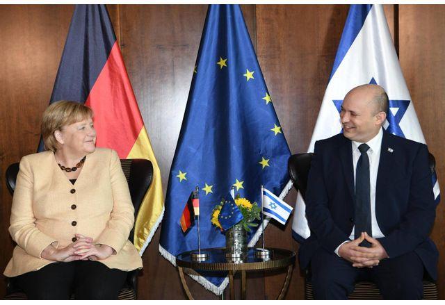 Ангела Меркел и Нафтали Бенет