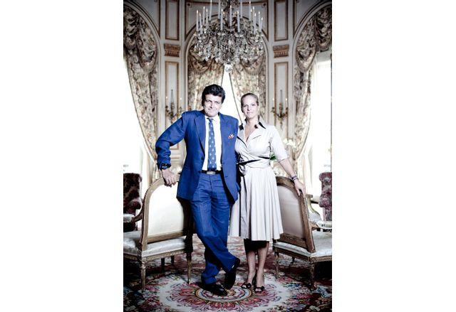Бенджамин Ротшилд и съпругата му Ариан