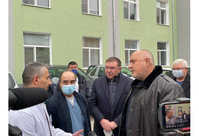 Бойко Борисов в Исперих