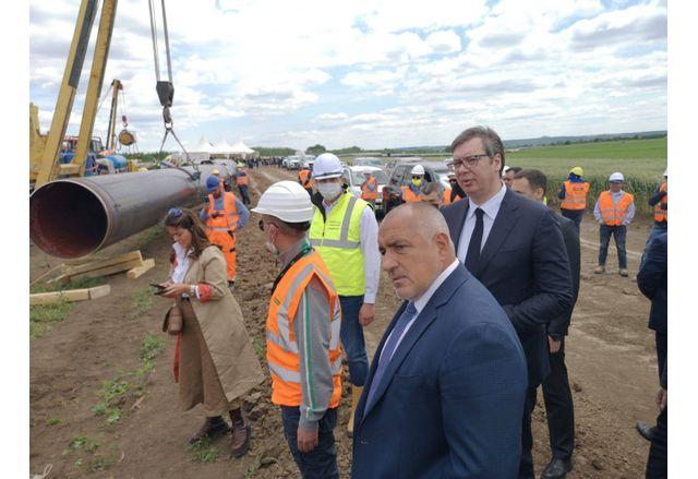 Борисов и Вучич натрасето на Балкански поток