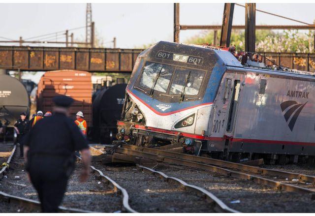 Влак дерайлира в САЩ