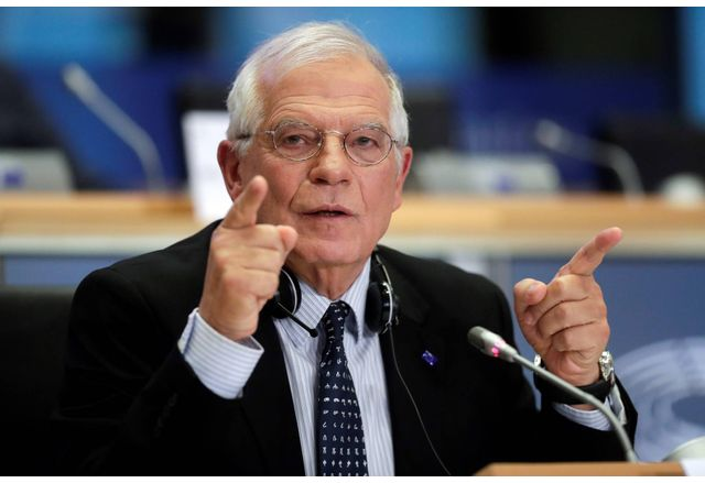 Върховният представител на ЕС по въпросите на външните работи и политиката на сигурност Жозеп Борел