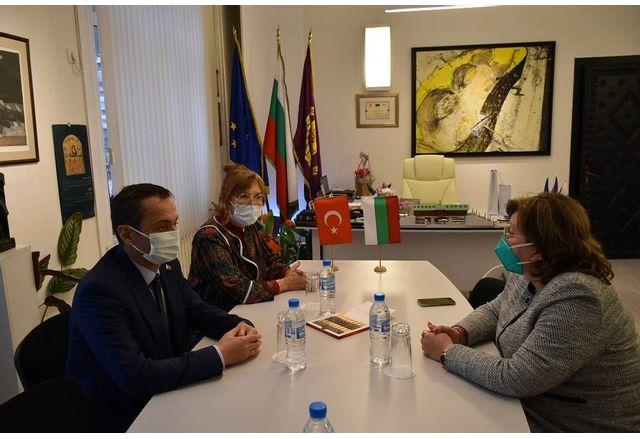 Генералният консул на Република Турция в Пловдив посети Ловеч