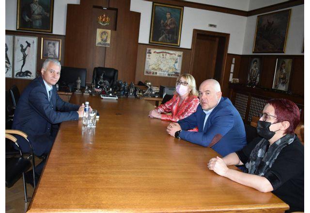 Главният прокурор Иван Гешев прие новия председател на ДАНС Пламен Тончев