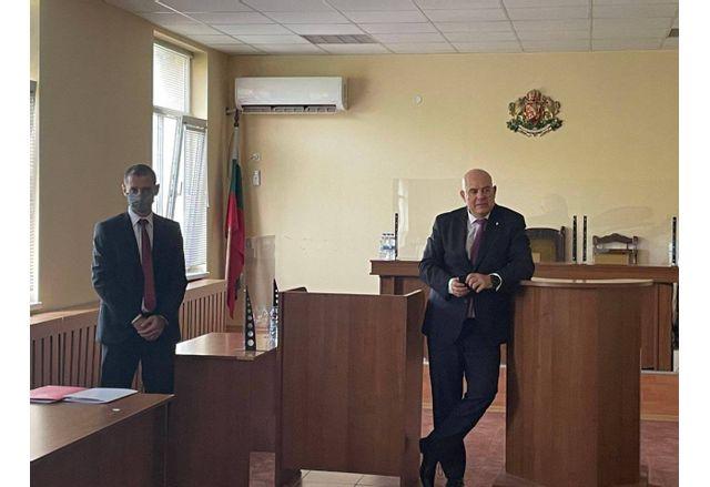 Главният прокурор на посещение в прокуратурите в Плевен и Ловеч