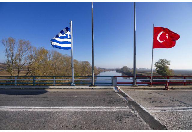 Границата между Гърция и Турция