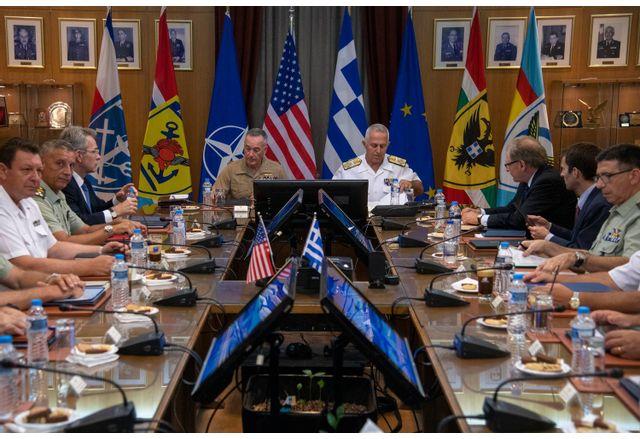 Гърция удължава договора за американското военно присъствие в страната