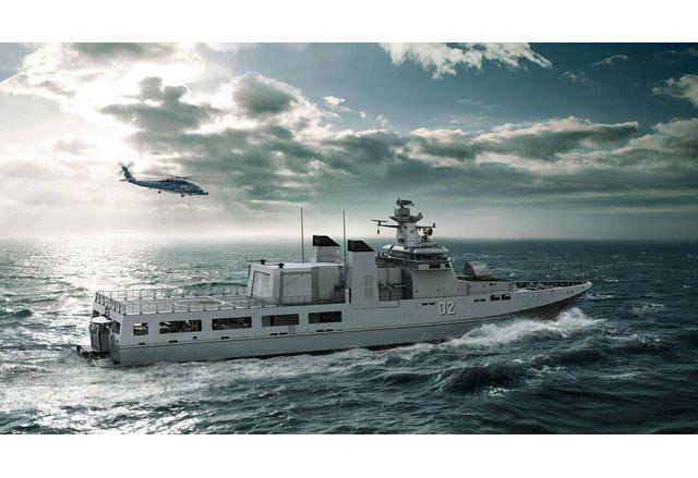 Дават още 150 000 000 лв. по бюджета на Министерството на отбраната за два многофункционални модулни патрулни кораби