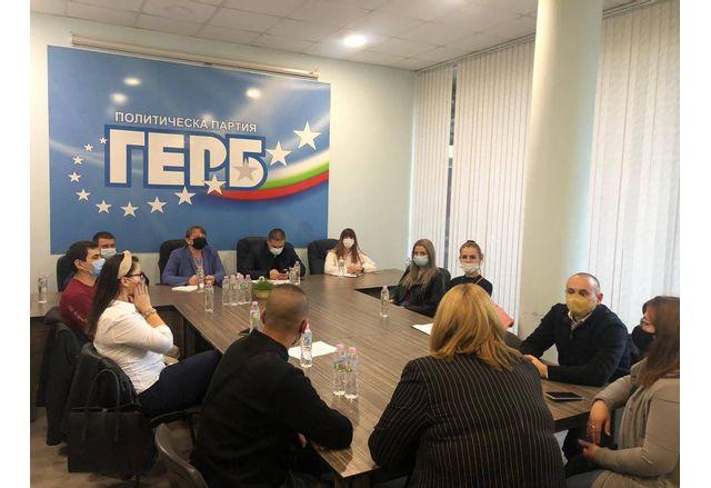 Деница Сачева на среща с МГЕРБ-Добрич