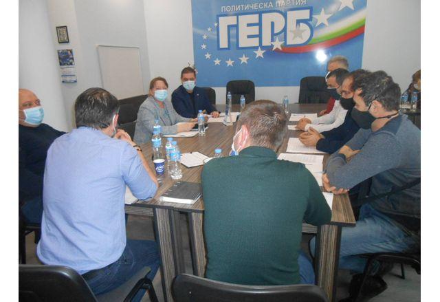 Деница Сачева се срещна с общинските ръководители на ГЕРБ в област Добрич