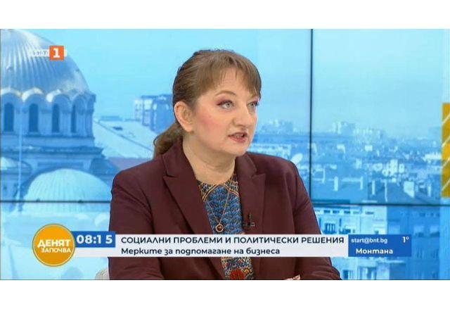 """Деница Сачева в предаването """"Денят започва"""" по БНТ"""
