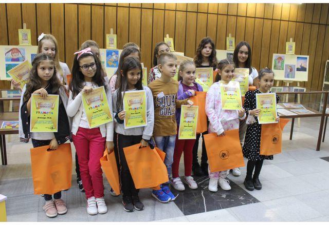 Деца нарисуваха своята приказка
