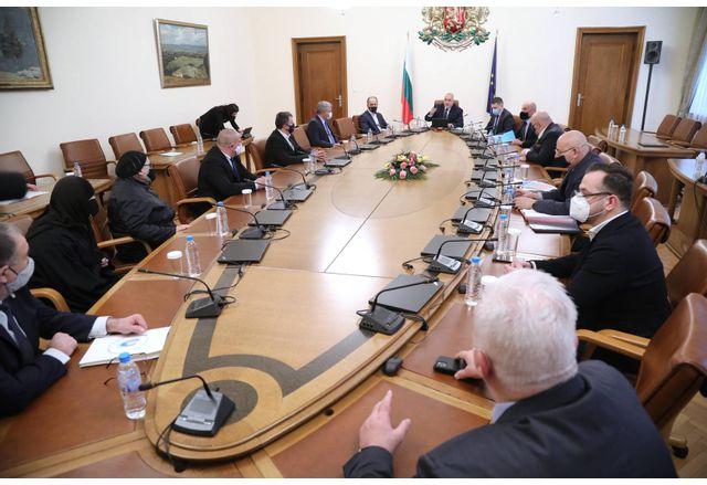 Днешното заседание на Министерски съвет