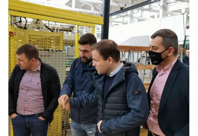 Евродепутатът Свен Симон на посещение в Сандански