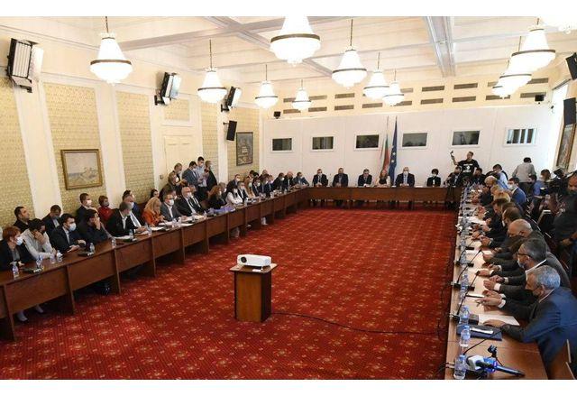 Заседание на Комисията по ревизията