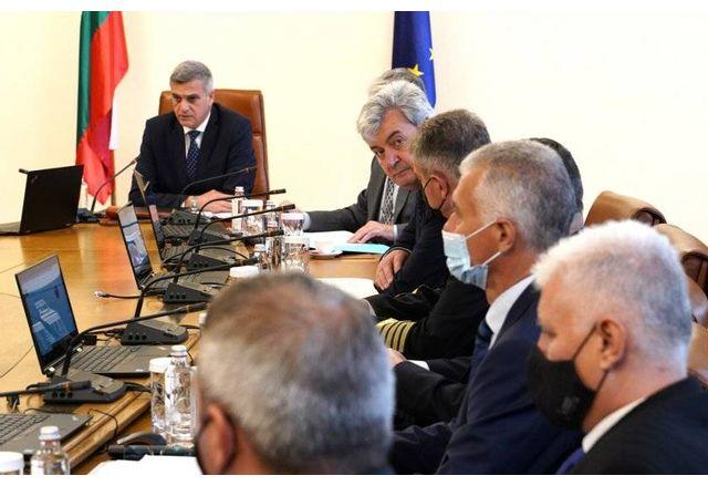 Заседание на Съвета по сигурността