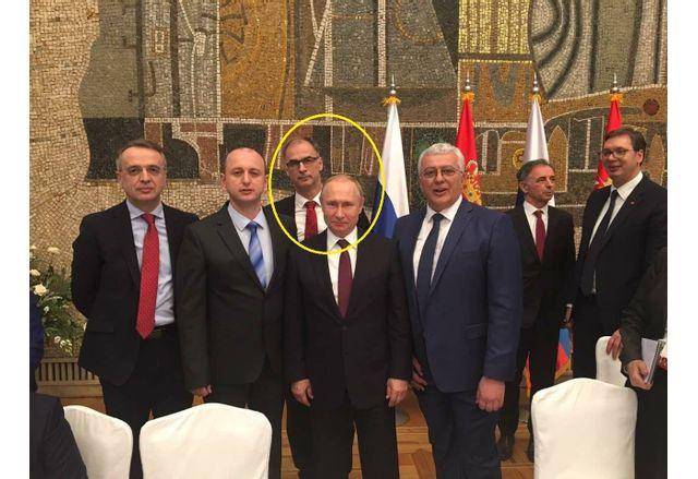 Иван Стоилкович и Владимир Путин през 2019 г.