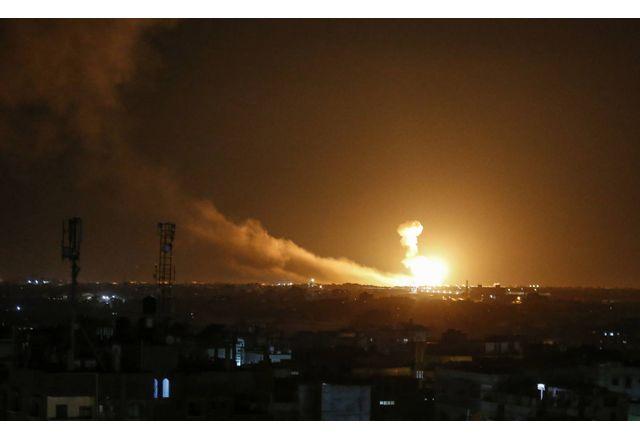 Израелски ракетен удар върху Дамаск