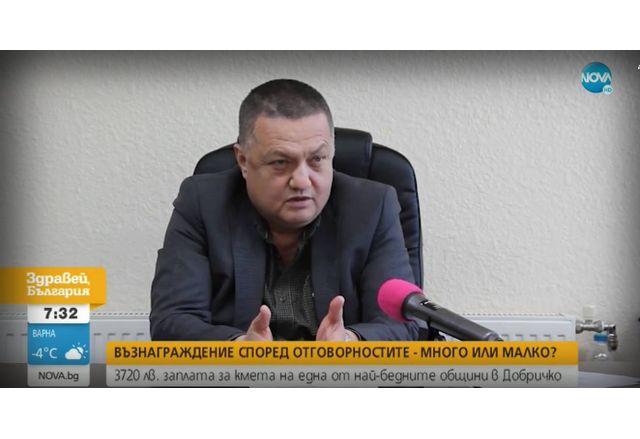 Илхан Мюстеджеб, кмет на Община Крушари