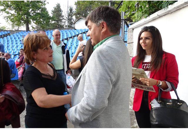Кандидатът за кмет на ГЕРБ Георги Бянов