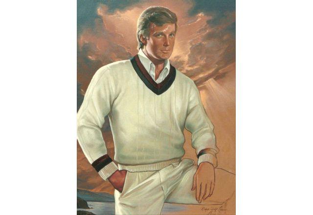 """Картината """"Визионерът"""", нарисувана през 1989 г. от Ralph Wolfe Cowan"""
