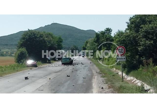 Катастрофа между шуменските села Градище и Черенча