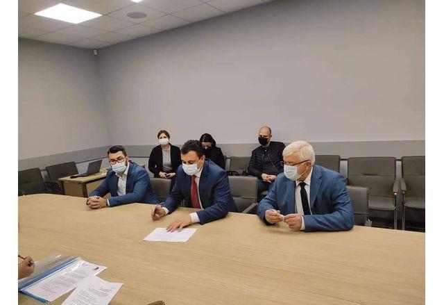 Коалиция ГЕРБ-СДС регистрира листата си в Перник