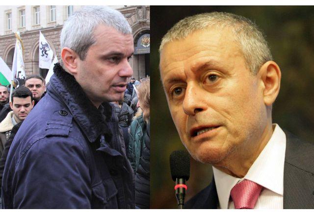 Костадин Костадинов и Соломон Паси