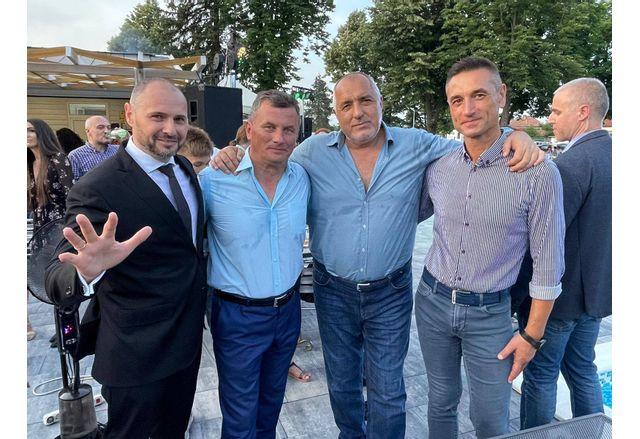 Лидерът на ГЕРБ Бойко Борисов в Бяла Слатина
