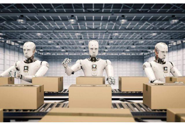 Мобилни роботи превземат складовете