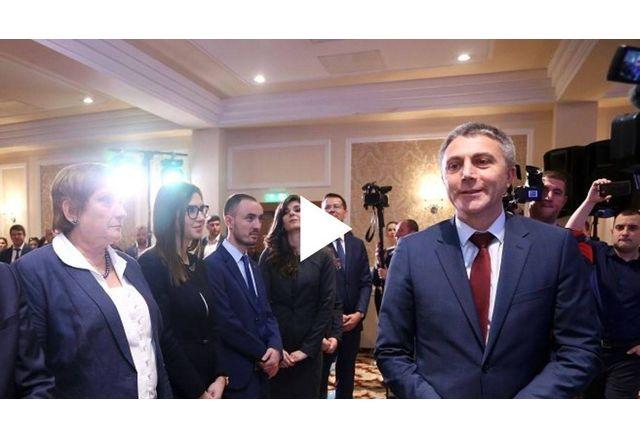 Мустафа Карадайъ и Искра Михайлова