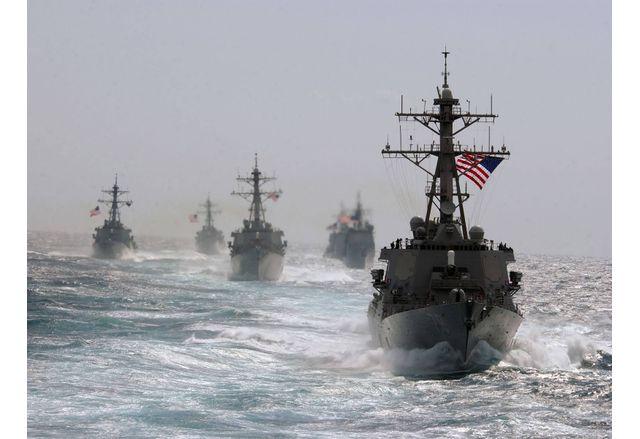 Най-мощната за последните четири години американска военноморска групировка навлезе в Черно море