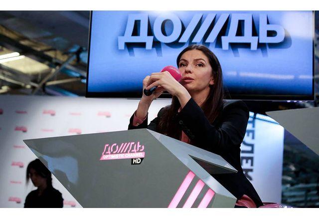 Наталия Синдеева от телевизия Дождь