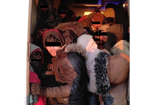 Нелегални мигранти от Афганистан