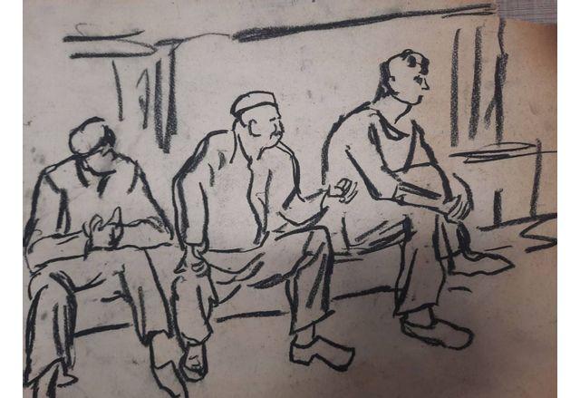 Непоказвани скици и рисунки на емблематичния Георги Баев очакват своята публика в Бургас