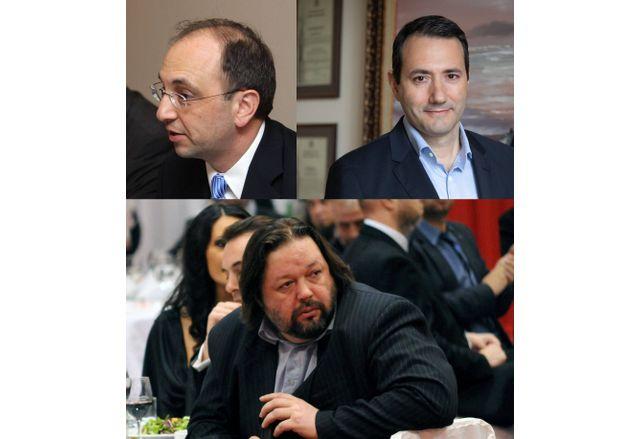 Николай Василев, Никола Янков и Денис Ершов