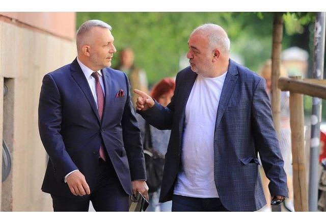 Николай Хаджигенов и Арман Бабикян